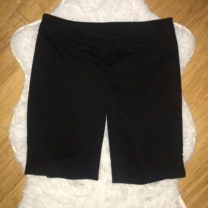 NWT Cache Black Bermuda shorts